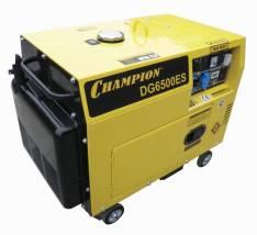Генератор дизельный Champion DG6500ES :: Электрострой
