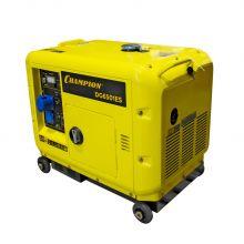 Генератор дизельный Champion DG6501ES +ATS :: Электрострой