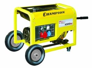 Генератор дизельный Champion DG6000E-3 :: Электрострой